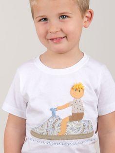 #camiseta #personalizada #muñeco en moto de agua