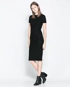Image 1 of V-BACK DRESS from Zara