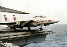 F-14A of VF-1 launched from USS Enterprise (CVN-65) 1978