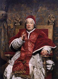 Mengs - Anton Raphael - Portrait du pape Clement XIII - Ca'Rezzonico, Venise