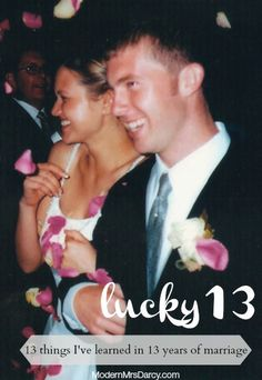Lucky 13: 13 things I've learned in 13 years of marriage