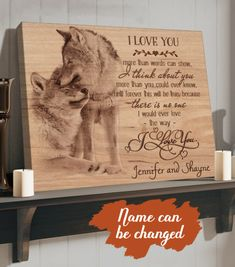 Love You More Than, I Love You, Love Your Home, Canvas Poster, Custom Photo, Canvas Material, 5 Years, Cotton Canvas, Te Amo