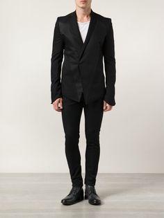 JULIUS - Angular Wool-Blend Blazer - 497JAM1 BLACK - H. Lorenzo