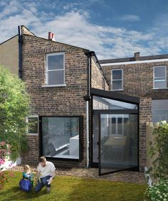 Private residence extension and side return on Relf Road, London - New Ideas Side Return Extension, Rear Extension, Extension Ideas, House Extension Design, Glass Extension, Victorian Terrace, Victorian Homes, Kitchen Diner Extension, London House