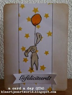 Klaartje's kaartjes en meer...: a card a day... (274)