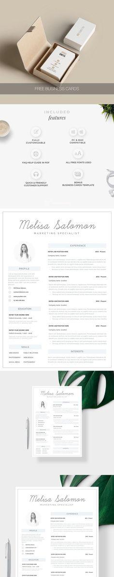 Resume Template Google Docs Simple Resume Templates Pinterest