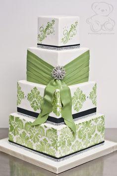 Mariage blanc & vert....