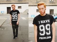 99 problems t-shirt  www.magicboxclothes.pl
