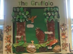 The Gruffalo display. Great in an early years classroom