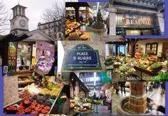 Marche d 'Aligre...best flea mkt and produce in Paris per DL.