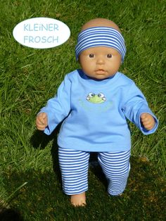 Babypuppen & Zubehör Puppen & Zubehör Baby Born Schlafi-Set  Neu Nr.44 Puppenkleidung  für 43 cm Puppe z.B