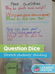 Students work in pairs. Each student in the pair receives a cube… What Is A Scientist, What Is Science, Thinking Skills, Critical Thinking, Cube Template, 2nd Grade Classroom, Science Notebooks, Literacy Stations, Lesson Planning