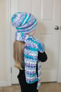 Crochet Scarves Beanies and Mittens/ Little Girl Crochet Hat Scarf and Mitten Set/Handmade Scarf/Crochet Mittens/Kids Clothes/Winter by Mandyscrochetshop on Etsy