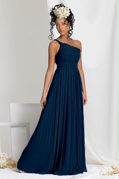 navy blue bridesmaid dresses | White+and+navy+blue+wedding+dresses