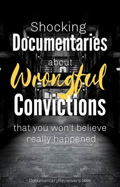 These documentaries about wrongful convictions will totally shock you! DNA evidence, coerced convictions, and even video evidence can be used against any of us. Netflix Documentaries, Netflix Movies, Netflix List, Funny Movies, Netflix Horror, Crime Books, Good Movies To Watch, Movie Lines, Independent Films