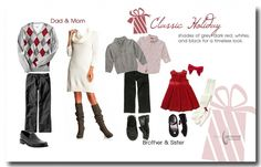 Christmas Indoor, what to wear style sheet.  lina jarmond photography what to wear 11