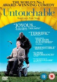 INTOUCHABLES/UNTOUCHABLE (15) 2011 FRANCE OLIVIER NAKACHE, O/TOLEDANO.E £19.99   Paul (François Cluzet), a rich aristocrat and habitual thrill-seeker, becomes quadriplegic after a paragliding accident. Alone in the world and unable to care for himself in even the most basic ways, Paul employs young Senegalese émigré Driss (Omar Sy) as his carer.  www.worldonlinecinema.com