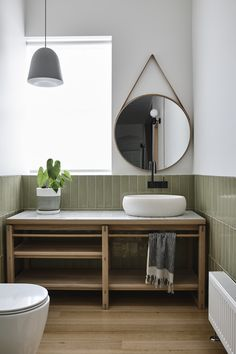 Malvern Garden House by Taylor Knights Architects – Project Feature – The Local Project Washroom Design, Bathroom Interior Design, Modern Bathroom, Small Bathroom, Bathrooms, Bathroom Ideas, Bathroom Design Inspiration, Box Houses, Bathroom Renovations
