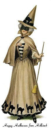Victorian witch by KFSonshine, via Flickr. this gives me an idea about a circle skirt to make for halloween.