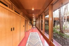 Incredible Frank Lloyd Wright house with 15 acres and waterfall asks $8M - Curbedclockmenumore-arrow : The Tiranna house was built in 1955 and is located on 15 acres in New Canaan, CT