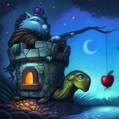 incentives #turtle #castle #sketchbook #sketch #photoshop #art #artwork #illustration #drawing #draw #
