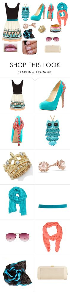 """nininiinininiiininininiininiinininininiininini."" by erig-opt ❤ liked on Polyvore featuring Oasis, Brian Atwood, TIARA, MANGO, Pieces, Oliver Peoples, Filippa K, Gosh and Jacques Vert"