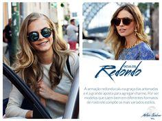 Dica de moda: Óculos Redondo.