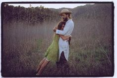 alexander and jade of Edward Sharpe and the Magnetic Zeros, they are freakin adorable. I love when they talk to each other in 'Home'