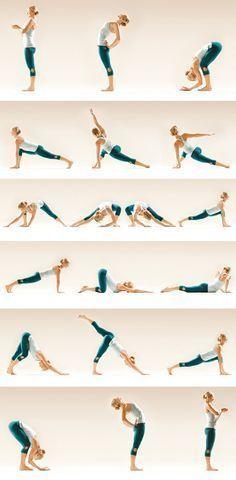 chandra namaskar: moon salutation                                                                                                                                                      More #yogaforbeginnersroutine