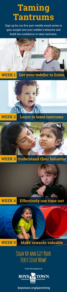 You don't have to tolerate tantrums from your toddler. This free email series offers tips and tactics to help you stop tantrums in their tracks.