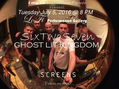 Exploding onto the Seattle scene is SixTwoSeven & Guests at LoFi Performance Gallery July 5th @ 8pm.  https://www.facebook.com/events/470269686505329/?ti=cl #SixTwoSeven @SixTwoSeven_DC @SixTwoSevenFANS @heygregr