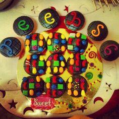 Cute candy crush cupcakes