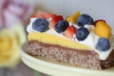 Trippel kremkake - Anne Brith Norwegian Food, Scandinavian Food, Pastry Cake, Sweet Cakes, No Bake Desserts, No Bake Cake, Eat Cake, Cake Recipes, Sweet Tooth