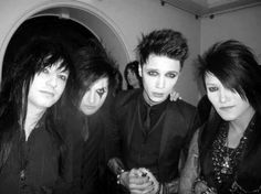 Black Veil Brides. At first I was like, oh what a nice picture. Huh where's CC? Lol found him!!!!