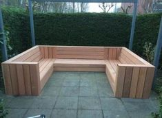 Outdoor sofa You are in the right place about palette diy mariage Here we offer you the most beautif Backyard Seating, Backyard Patio Designs, Garden Seating, Pergola Patio, Pergola Ideas, Modern Pergola, Small Pergola, Patio Ideas, Outdoor Seating Bench