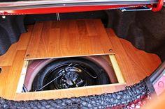 laminated hardwood flooring car trunk