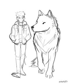 sketch dump + figuring how to draw these fools Anime Drawings Sketches, Animal Sketches, Animal Drawings, Cute Drawings, Drawings Of Wolves, Art Poses, Drawing Reference Poses, Drawing Base, Character Drawing