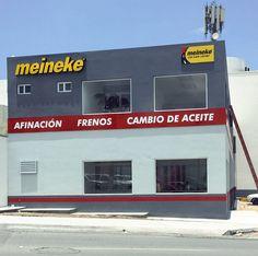 Meineke MTY | Logotipo y anuncio luminosos