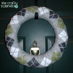 Argyle wreath