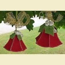 Risultati immagini per campane in feltro carta modello