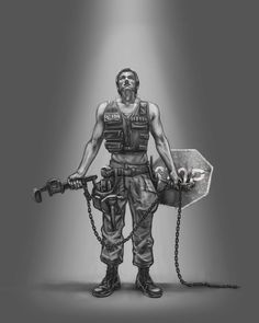 post apocalypse people | Post Apocalyptic Paladin by *artybel on deviantART