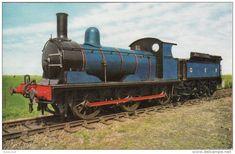 Railway Postcard LNER J15 GER 564 SHERINGHAM Great Eastern 0-6-0 Loco 65462
