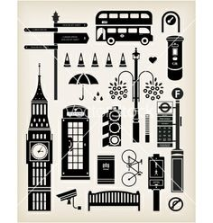 Find Vector London City Street Icon Set stock images in HD and millions of other royalty-free stock photos, illustrations and vectors in the Shutterstock collection. London City, London Silhouette, Simple Line Drawings, London Landmarks, Patch Aplique, Silhouette Portrait, Travel Scrapbook, Cool Posters, City Streets