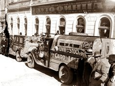 Beograd - 1929. - auto-relly - tour from Capetown to Stockholm via Cairo and London, sponsored by the companies Chevrolet and Shell.