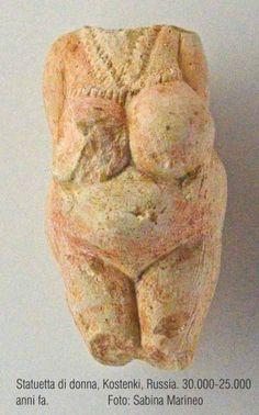 statuetta di donna, Kostenki,30.000-25.000 anni fa
