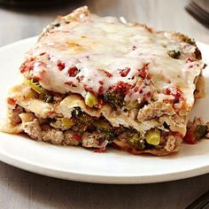 Our turkey lasagna can be made in the slow cooker (Yes, really!)