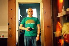 Analogue Sunrise shirt (green) x Olympus XA 35mm. Thank You Steve for this great shot all the way from Brighton, UK