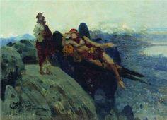 Temptation of Christ - Ilya Repin