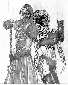 Travis Charest Art | Travis Charest ~ Art Process for two of his Star Wars Covers.