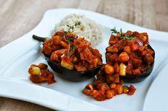 Würzige Rezepte Tajine Vegan, Kung Pao Chicken, Veggies, Lunch, Dinner, Ethnic Recipes, Food, Lasagne Soup, Chic Peas